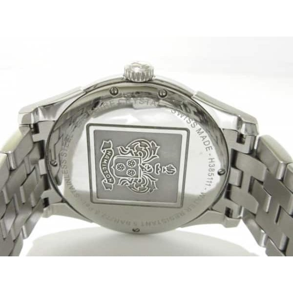 ハミルトン HAMILTON 腕時計 ジャズマスターシンライン H385111 メンズ 黒  値下げ 20190303|brandear|03