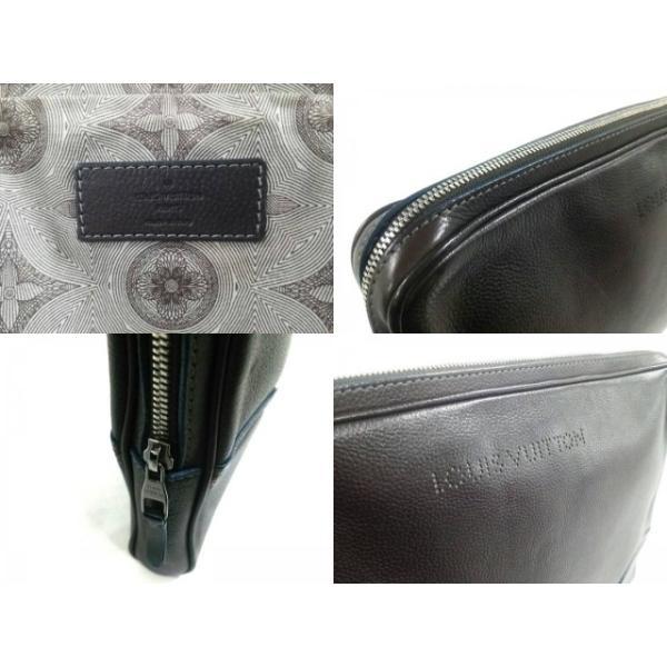 ルイヴィトン バッグ コレクションライン 美品 ポルトオーディナチュール M95777 マロン レザー  値下げ 20190127