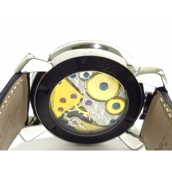 low priced 9a659 a9f52 ガガミラノ GAGA MILANO 腕時計 美品 マヌアーレ48 N.21820 ...