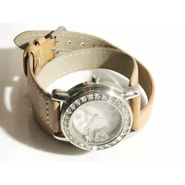 ビームス BEAMS 腕時計 - レディース ラインストーン シルバー 新着 20190403