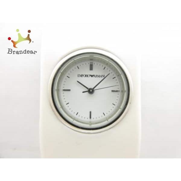アルマーニ EMPORIOARMANI 腕時計 AR-1008 レディース 白  スペシャル特価 20190808|brandear