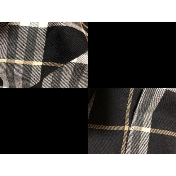 バーバリーブルーレーベル ワンピース レディース 黒×グレー×ベージュ チェック柄     スペシャル特価 20191008|brandear|06