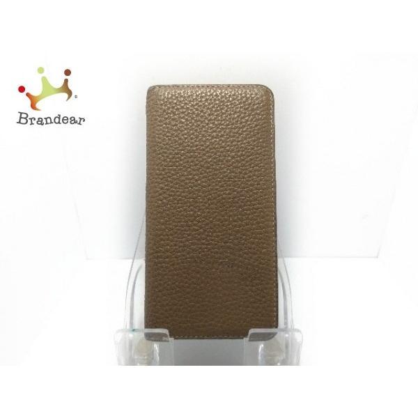 ボナベンチュラ BONAVENTURA 携帯電話ケース ベージュ 手帳型iPhoneケース レザー   スペシャル特価 20190907|brandear