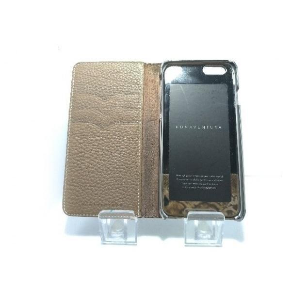 ボナベンチュラ BONAVENTURA 携帯電話ケース ベージュ 手帳型iPhoneケース レザー   スペシャル特価 20190907|brandear|03