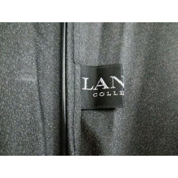 ランバンコレクション 日傘 ダークグレー×グレー×ベージュ 刺繍 コットン×ウッド×金属素材 新着 20190605