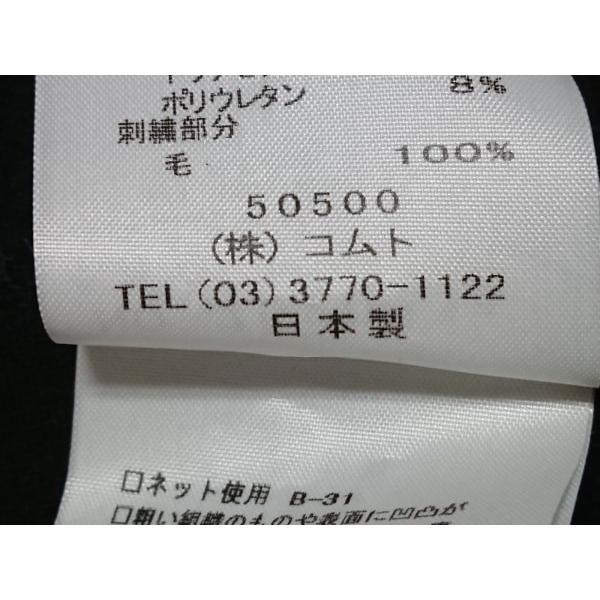 ノリコアラキ noriko araki ワンピース サイズM レディース 美品 黒×白×レッド 刺繍 新着 20190618|brandear|05