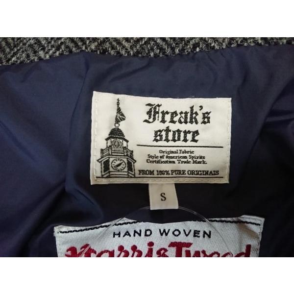フリークスストア freak's store ダウンジャケット サイズS レディース 黒×グレー   スペシャル特価 20191218|brandear|03