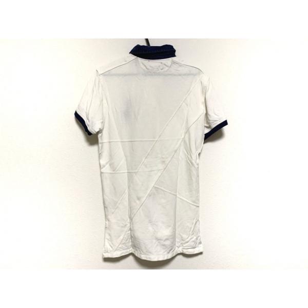 ポロラルフローレン 半袖ポロシャツ サイズS メンズ ビッグポニー 白×ネイビー 新着 20200806 brandear 02