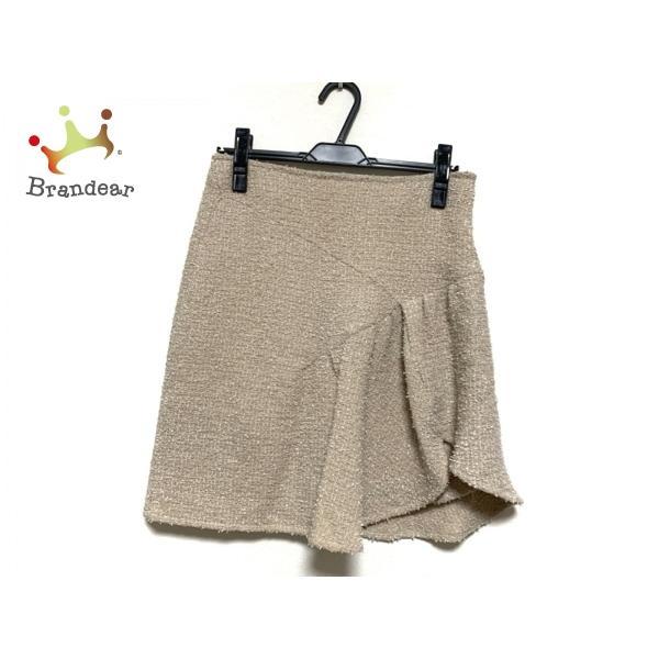 クリスチャンディオール ChristianDior スカート サイズ36 S レディース ベージュ×白  値下げ 20200929|brandear