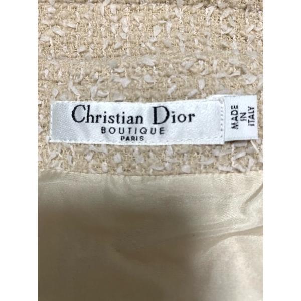 クリスチャンディオール ChristianDior スカート サイズ36 S レディース ベージュ×白  値下げ 20200929|brandear|03