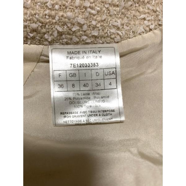 クリスチャンディオール ChristianDior スカート サイズ36 S レディース ベージュ×白  値下げ 20200929|brandear|04