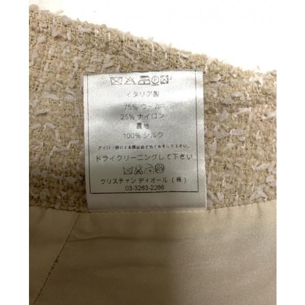 クリスチャンディオール ChristianDior スカート サイズ36 S レディース ベージュ×白  値下げ 20200929|brandear|05