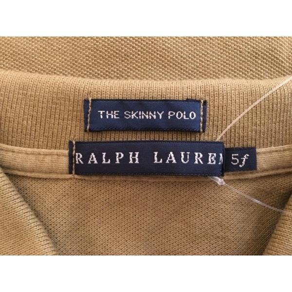 ラルフローレン RalphLauren 半袖ポロシャツ サイズ5f M レディース カーキ 新着 20191112|brandear|03