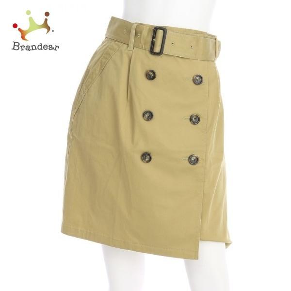 アンタイトル UNTITLED サイズL レディース 新品同様 ベージュ系 台形スカート 新着 20210508