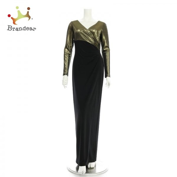 ラルフローレン RalphLauren ドレス サイズM レディース 新品同様 ブラック系 ロングドレス 新着 20210514