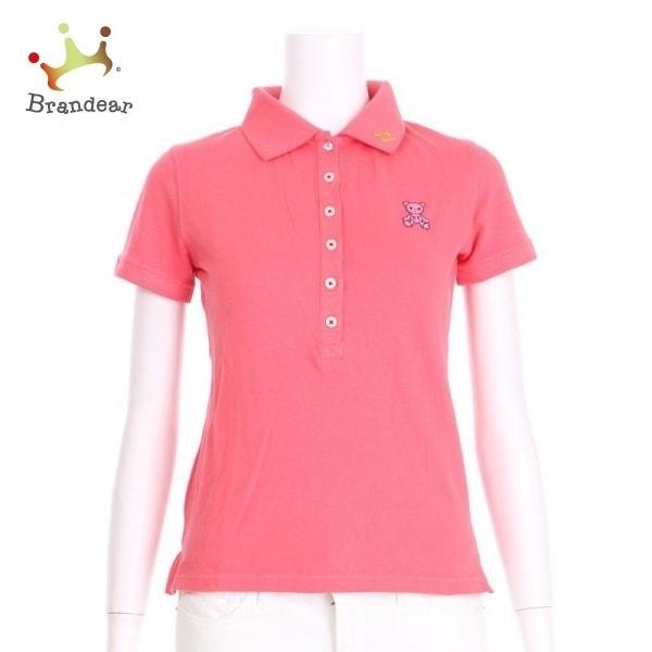 サマンサタバサ 半袖ポロシャツ サイズS レディース 新品同様 ピンク系 ポロシャツ  値下げ 20210913
