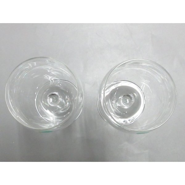 ティファニー TIFFANY&Co. ペアグラス 新品同様 - クリア ワイングラス×2 クリスタル 新着 20200620|brandear|02