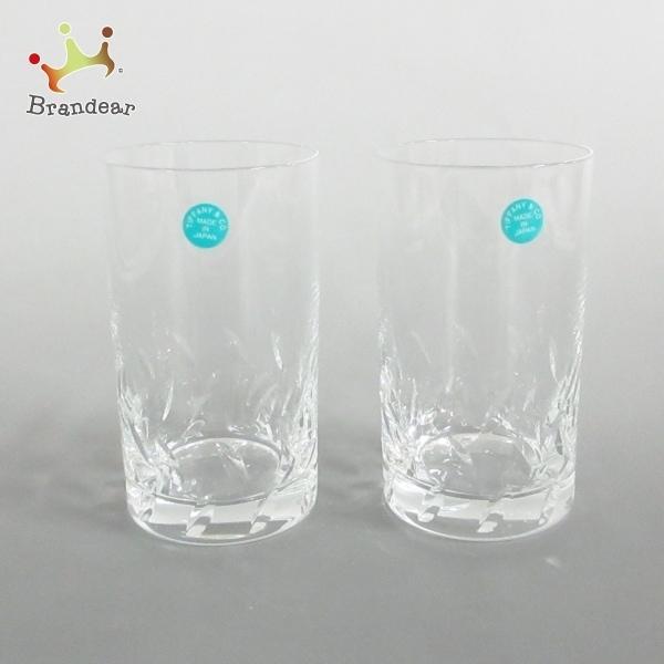 ティファニー TIFFANY&Co. ペアグラス 新品同様 - クリア ガラス 新着 20210325