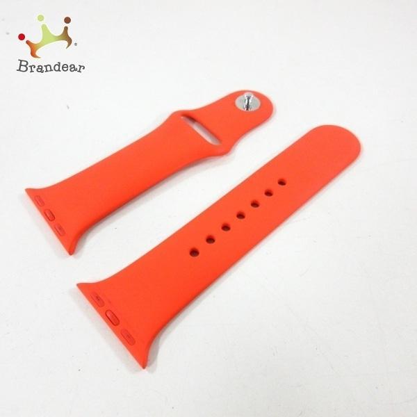 エルメス-オレンジ腕時計替えベルト/アップルウォッチ用替えベルト/40MM/セリエラバー新着20210411