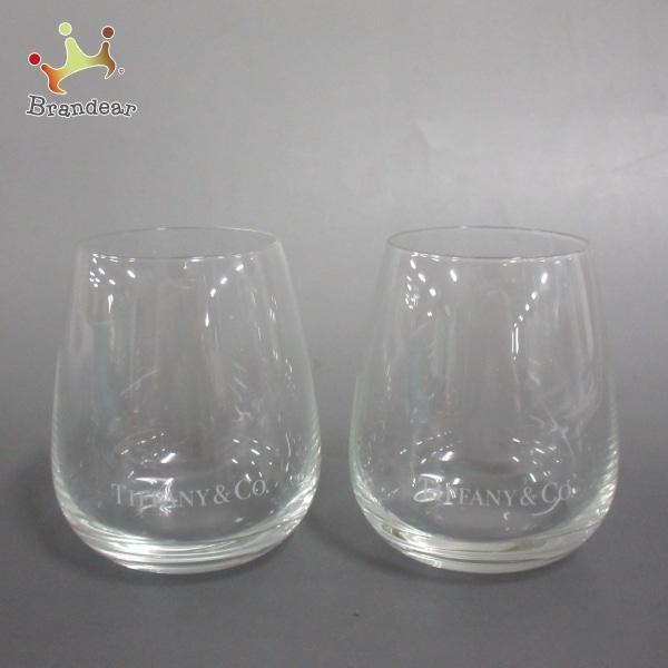 ティファニー TIFFANY&Co. ペアグラス 新品同様 タンブラー クリア ガラス 新着 20210824