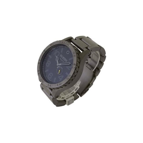 ニクソン腕時計 51-30 フィフティーワン サーティ タイド A057-680 メンズ オール ガンメタル 男女兼用腕時計|brandechoice|02