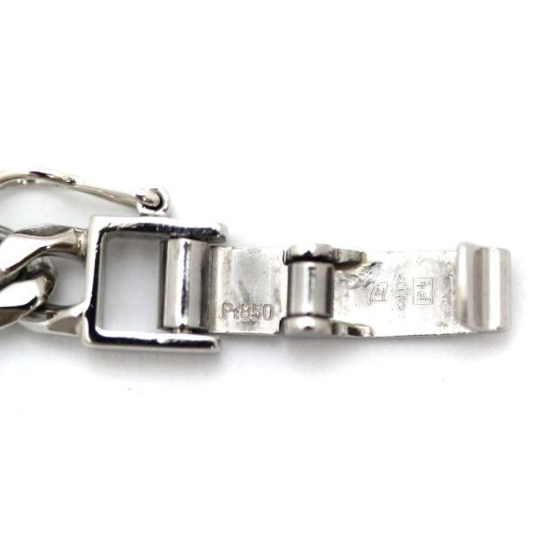 新品仕上げ済み  喜平 8面 シングル ネックレス メンズ Pt850プラチナ ジュエリー PT 中古 送料無料|brandeco|06