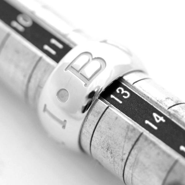 新品仕上げ済み ブルガリ モノロゴ リング・指輪 ユニセックス K18ホワイトゴールド ジュエリー 12号 ホワイトゴールド 中古 送料無料|brandeco|08