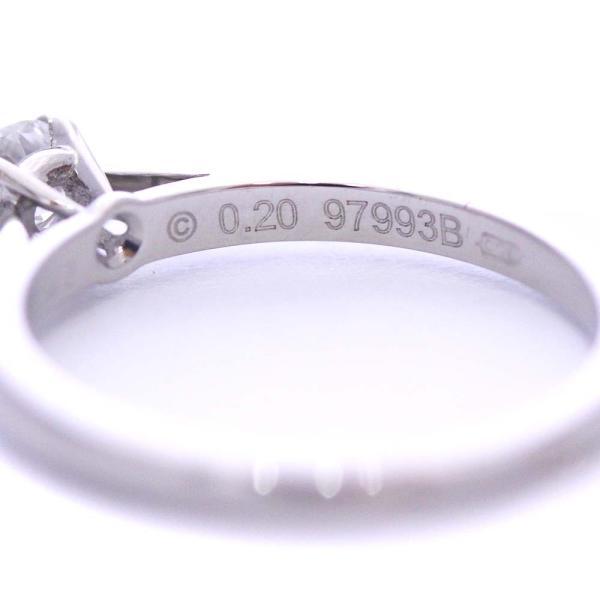 新品仕上げ済み カルティエ ソリテール リング・指輪 レディース Pt950プラチナ ダイヤモンド ジュエリー 6号 シルバー 中古 送料無料|brandeco|05