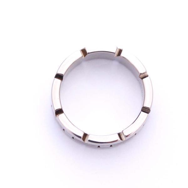 新品仕上げ済み カルティエ タンクフランセーズ リング・指輪 レディース K18ホワイトゴールド ジュエリー 8.5号 シルバー 中古 送料無料 brandeco 04