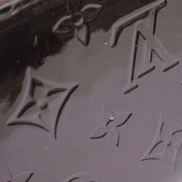 ルイ ヴィトン ジッピーウォレット モノグラム 長財布 レディース ヴェルニ アマラント パープル M93522 中古 送料無料