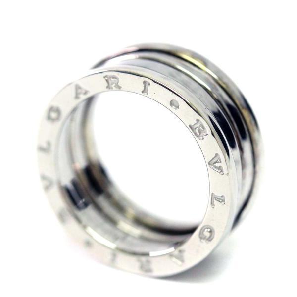 新品仕上げ済み ブルガリ B.Zero1 ビーゼロワン リング・指輪 レディース K18ホワイトゴールド ジュエリー 9号 WG 中古 送料無料|brandeco