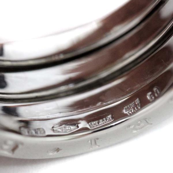 新品仕上げ済み ブルガリ B.Zero1 ビーゼロワン リング・指輪 レディース K18ホワイトゴールド ジュエリー 9号 WG 中古 送料無料|brandeco|06