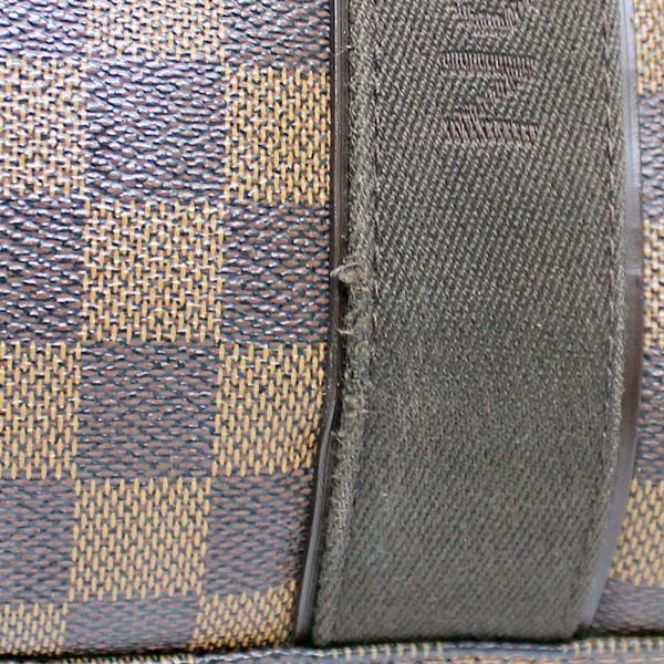 ルイ ヴィトン ダミエ カバ・ボブール 肩掛け トートバッグ ユニセックス PVC エベヌ N52006 中古 送料無料