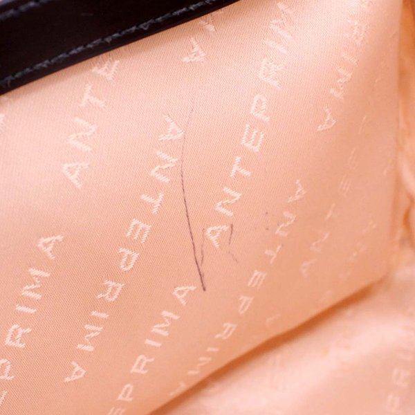 アンテプリマ ドクロプリント チェーン ショルダーバッグ レディース エナメル ホワイト ブラック 中古 送料無料|brandeco|10
