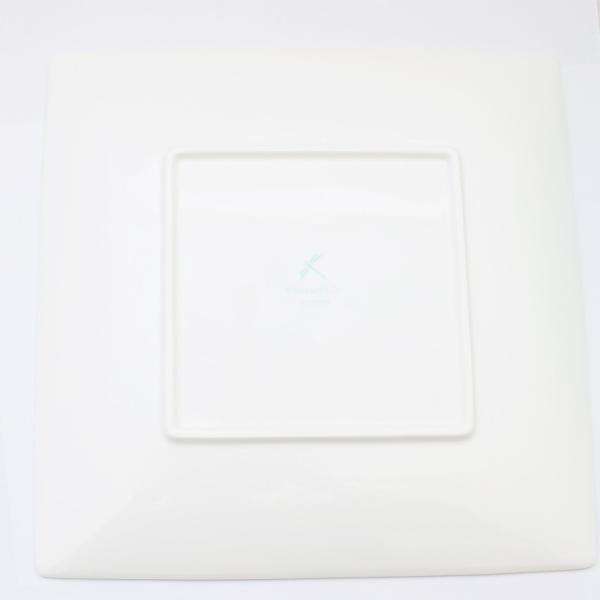 未使用品 ティファニー ブルーボックス スクエアプレート 食器 お皿 磁器 ブルー ホワイト 中古|brandeco|03