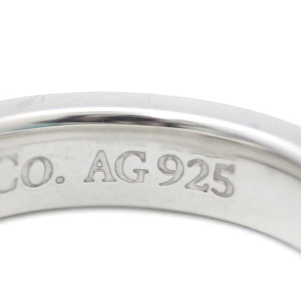 ティファニー ロゴ 1837 リング・指輪 ユニセックス シルバー925 アクセサリー 6号 シルバー 中古