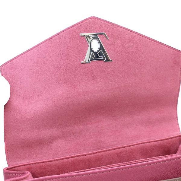 ルイ ヴィトン マイロックミー 2WAY ハンドバッグ レディース レザー ピンク ベージュ系 M54997