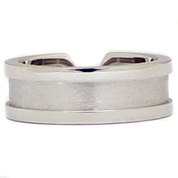 新品仕上げ済み カルティエ C2 リング・指輪 レディース K18ホワイトゴールド ジュエリー 10号 WG 中古 送料無料