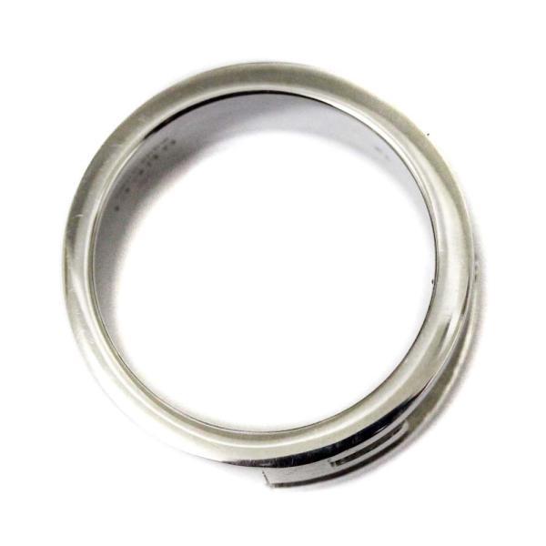 新品仕上げ済み グッチ Gロゴ リング・指輪 レディース シルバー925 アクセサリー 11号 SV 中古|brandeco|03