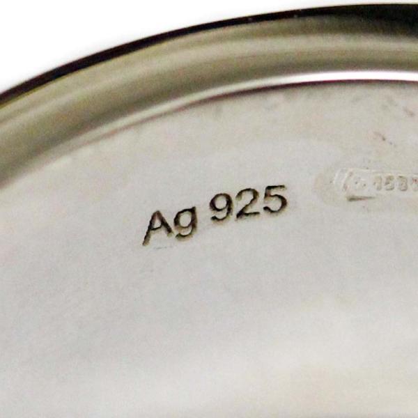新品仕上げ済み グッチ Gロゴ リング・指輪 レディース シルバー925 アクセサリー 11号 SV 中古|brandeco|07