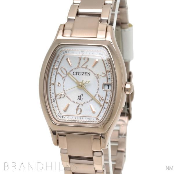 シチズン クロスシーXC 腕時計 レディース エコドライブ電波 ティタニアライン ワールドタイム ハッピーフライト サクラピンク ES9354-69A CITIZEN 未使用品