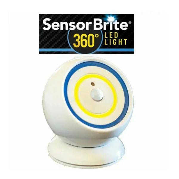 センサーブライト 360 1台3役の人感センサーライト LEDライト 簡単設置 自動点灯 持ち運び 懐中電灯 SensorBrite 防災 非常灯|branding-japan