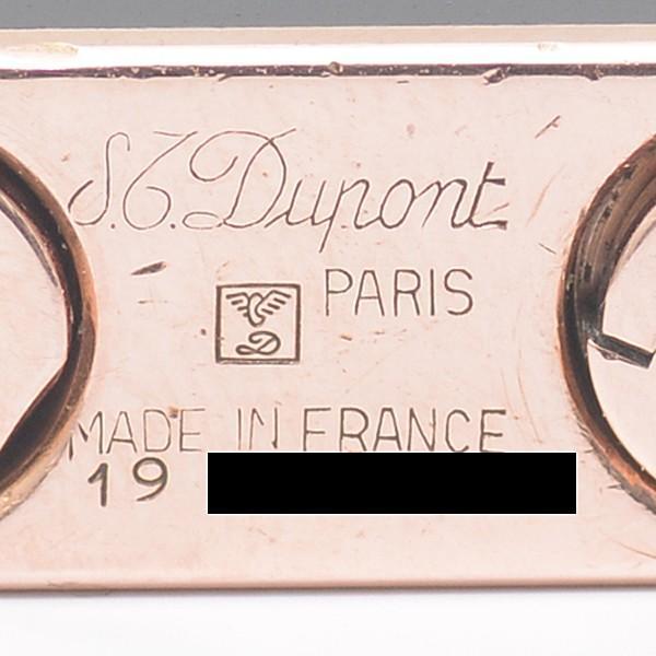 デュポン S.T.Dupont ラインD ローラーガスライター ブラックラッカー 動作確認済 中古|brandmax|07