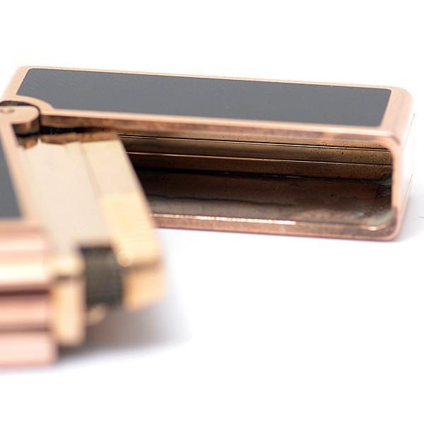 デュポン S.T.Dupont ラインD ローラーガスライター ブラックラッカー 動作確認済 中古|brandmax|10