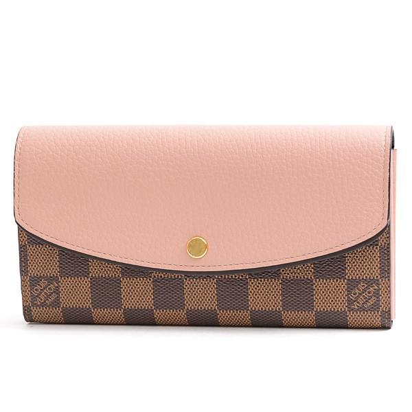 ルイヴィトン Louis Vuitton ダミエ ポルトフォイユ ノルマンディー 二つ折り長財布 N61262 未使用展示品