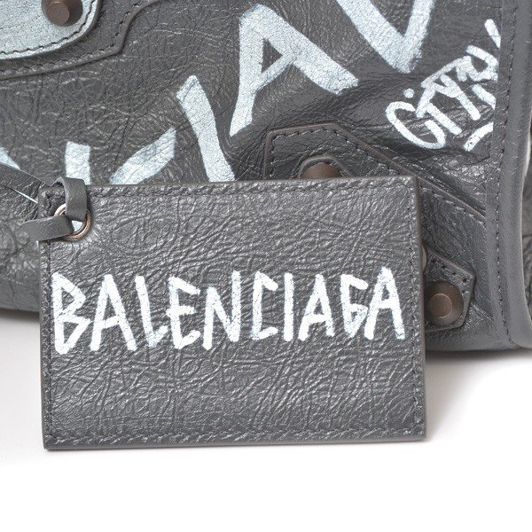 バレンシアガ BALENCIAGA グラフィティクラシックシティS 2ウェイハンドバッグ レディース 未使用展示品