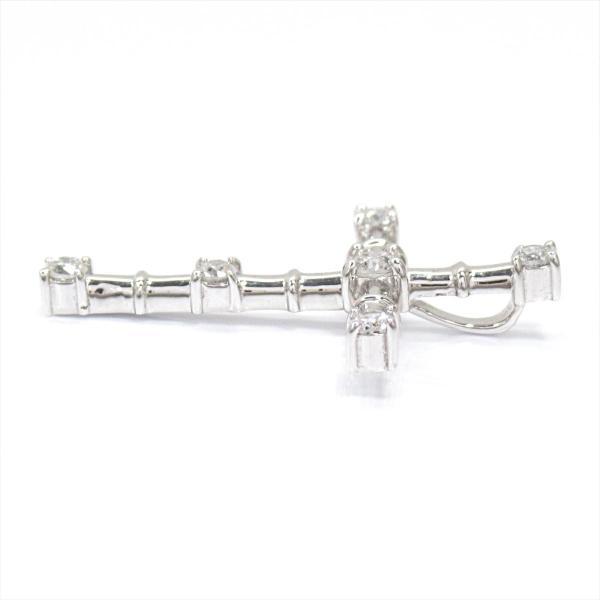 ジュエリー10%OFF対象 ジュエリー ダイヤモンドトップ K18WG(750) ホワイトゴールド×ダイヤモンド(0.30ct) ランクA