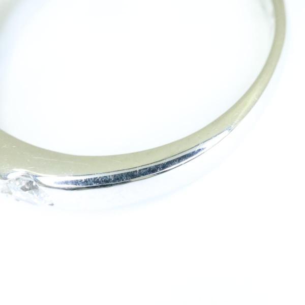 ジュエリー リング ダイヤ 指輪 シルバー PT900 プラチナx ダイヤ(1.018CT 0.62CT) ランクA 10号