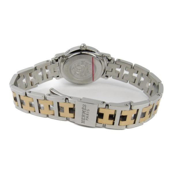 エルメス クリッパー ウォッチ 腕時計 ゴールド ステンレススチール(SS)xGP(ゴールドメッキ)  ランクA