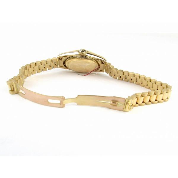 ロレックス デイトジャスト 10Pダイヤモンド ウォッチ 腕時計 ゴールド K18YG(750)イエローゴールドx10Pダイヤモンド 69178G